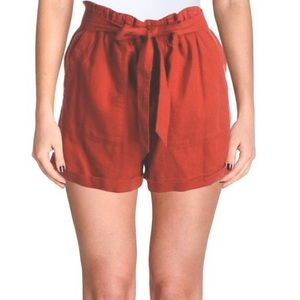 Sanctuary Anthropologie red casual shorts